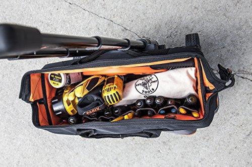 b8a15a143c Klein Tools 55452RTB Tradesman Pro Organizer Rolling Tool Bag